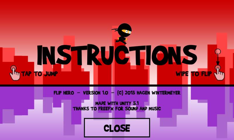 android Flip Hero Screenshot 2
