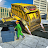 Flying Garbage Truck, Dump Truck Driving Simulator logo