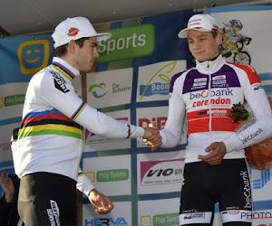 """Uitkijken naar Mathieu van der Poel en Wout Van Aert zondag: """"Onderschat ons deelnemersveld niet"""""""