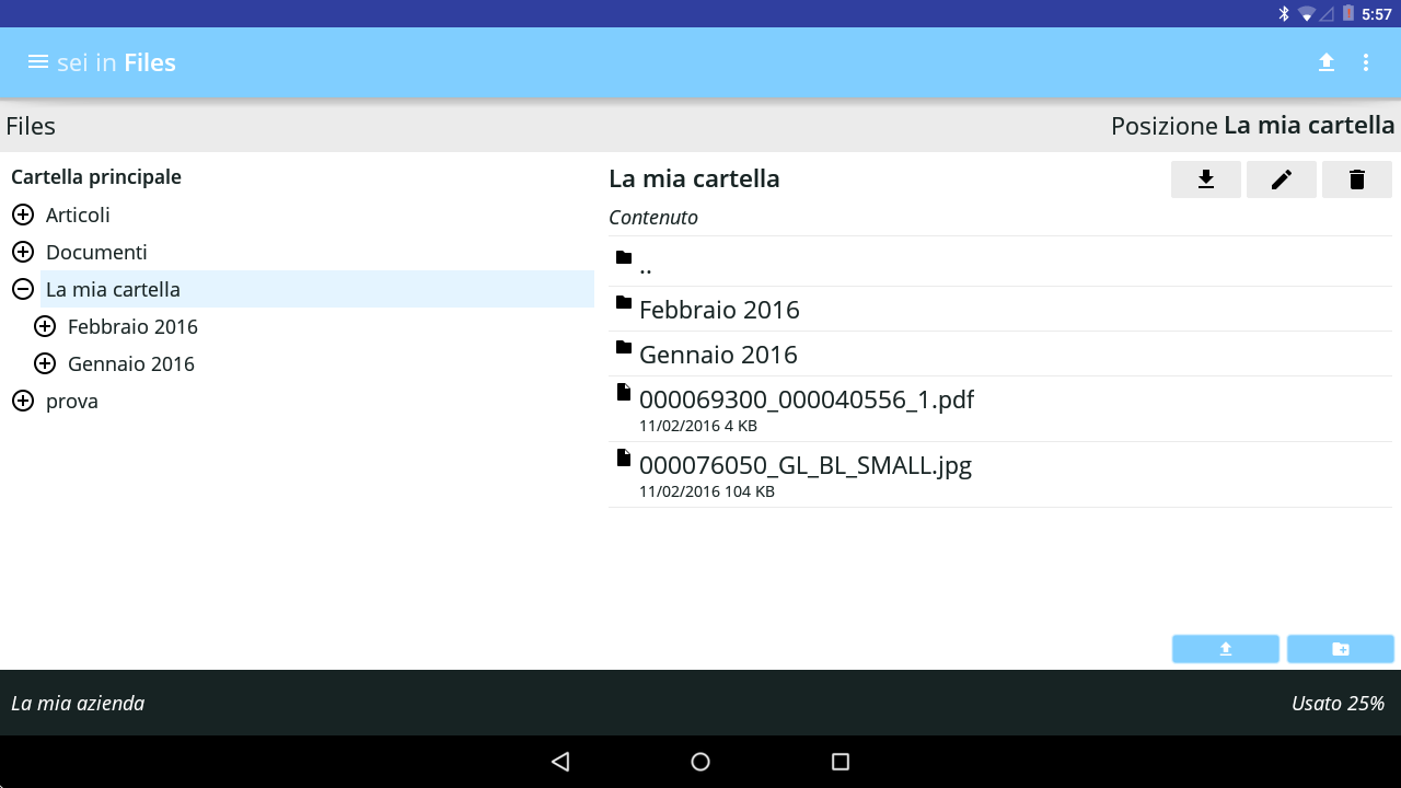 GeniusLab Mobile - Gestionale- screenshot