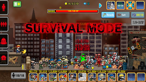 100 DAYS - Zombie Survival 2.4.3 screenshots 15