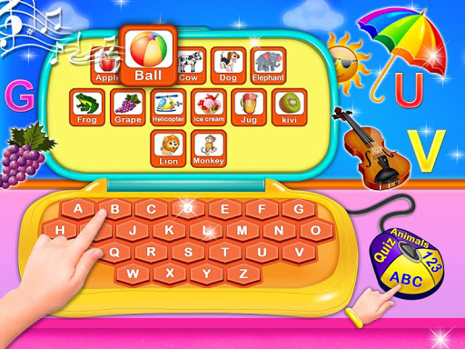 Alphabet Laptop - Numbers, Animals Educational 2 for PC