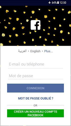 BLACK FACEBOOK LITE APKPURE - Messenger Lite 65 0 1 18 236