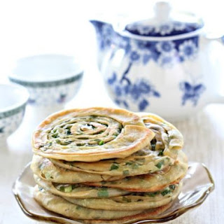 Spring Onion Pancake 香煎葱油饼