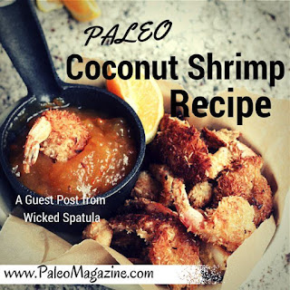 Paleo Coconut Shrimp Recipe – Guest Post from Wicked Spatula.