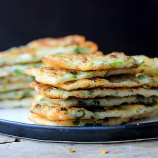 Chinese Scallion Pancake—Simplified Version.