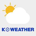케이웨더 날씨(날씨, 미세먼지, 기상청, 위젯, 대기오염) icon