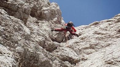 Photo: Zadnja zajeda IV+, pred vrhom.