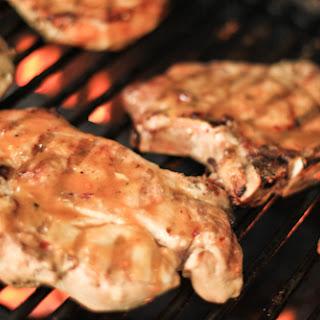 Hot and Sweet Glazed Pork Chops