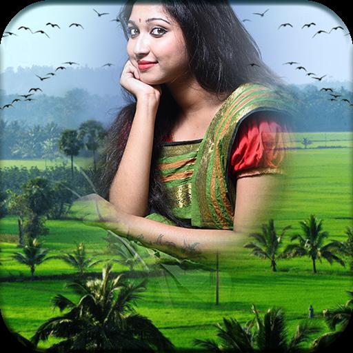 Village Photo Editor: New Picture Frames Icon