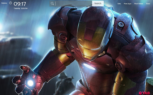 Iron Man Wallpapers Hd Theme