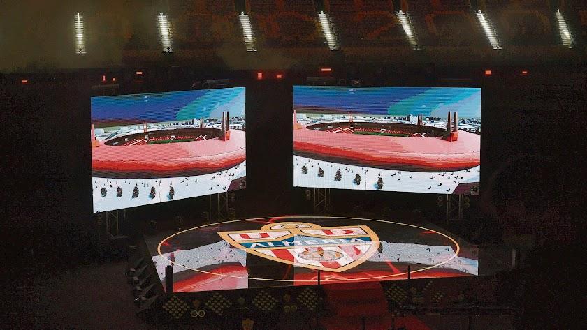 Presentación del proyecto para el Estadio de los Juegos Mediterráneos