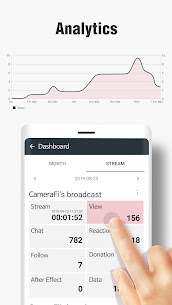 CameraFi Live – YouTube, Facebook, Twitch and Game Apk  Download For Android 8