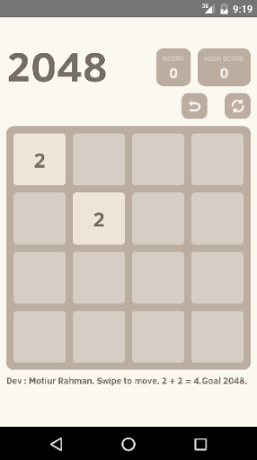 2048 Puzzle Ads Free