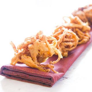 Onion Bhaji.