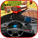 OffRoad Extreme Bus Hill Climb icon