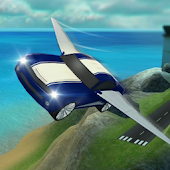تحلق سيارة 3D محاكاة الطيران