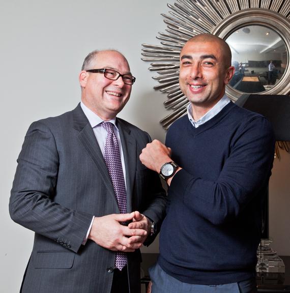 Photo: IWC Schaffhausen congratulates Chelsea coach, Schaffhausen native Roberto Di Matteo and IWC friend - on a huge win against Bayern Munich tonight. Best wishes from Schaffhausen