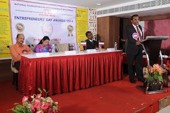 Photo: Inaugural & Key Note Address By Prof. Dr. R. Ganesan, Chairman, NFED