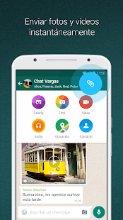 WhatsApp Messenger: miniatura de captura de pantalla