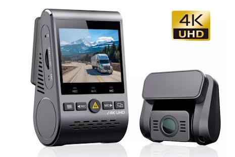 Bilkamera, VIOFO A129 PRO DUO ULTRA 4K, 3840x2160p, GPS, WiFi