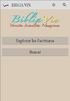Screenshot of Biblia VIN 2011