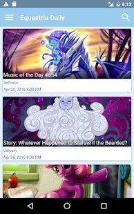 Equestria Daily- screenshot thumbnail