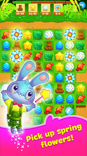 Easter Sweeper - Chocolate Bunny Match 3 Pop Games 2.1.1 screenshots 1