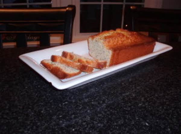 Almond Poppy Bread Recipe