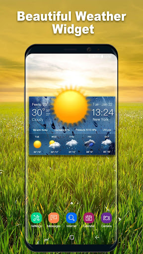Daily weather forecast widget 16.6.0.6206_50092 screenshots 3