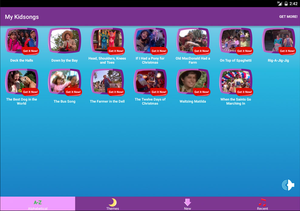 Kidsongs Sing Along- screenshot
