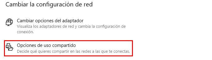 Compartir carpetas en red con windows 10
