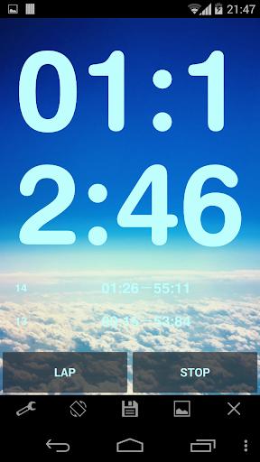 Simple Stopwatch Pro screenshot 4