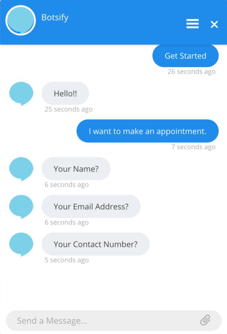 Botsify chatbot