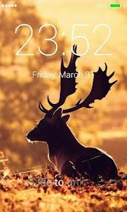 Deer Lock Screen - náhled
