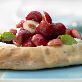 Sweet Flatbreads with Cherries