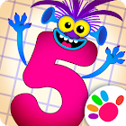 Learning numbers for kids! Writing Counting Games! icon