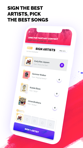FanLabel - Daily Music Contests screenshots 3