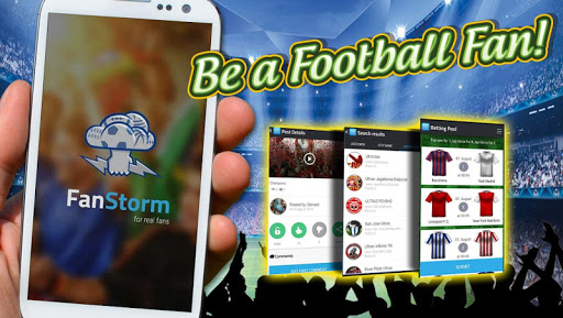 FanStorm Be a Football Fan