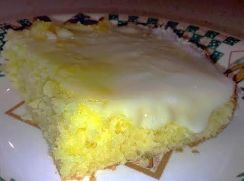"Click Here for Recipe: Fresh Lemon Sheet Cake ""This flavor will knock..."