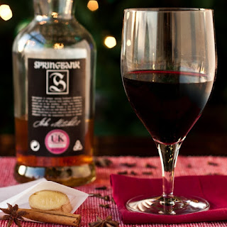 Mulled Wine - with a Ginger and Scotch twist