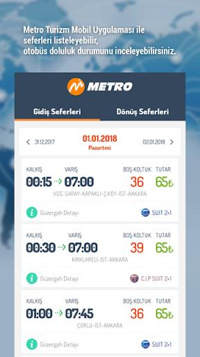 metroturizm online ticket sale screenshot 2