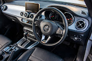 The interior of the Mercedes X-Class.