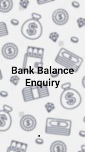 BankBalanceEnquiry - náhled