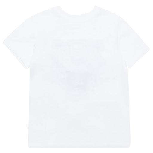 Thumbnail images of Kenzo Kids White Cotton Tiger Tee