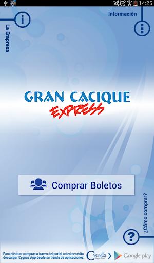 Gran Cacique Express Tablet