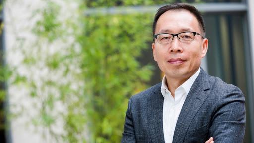 Victor Zhang, vice-president of Huawei.