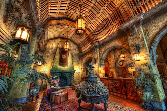 Photo: I'm publishing this tomorrow on the blog, but wanted to give you a sneak preview...  And here is yet another from Disney World!  So, I was sitting there in the Tower of Terror taking photos inside the first room into which the group is ushered. It's the one where they show that Twilight Zone clip. Anyway, I just stayed in there as five groups came in and out, trying to get a photo of the room itself. Eventually, the cast member asked me (in a nice way) what I was doing. I told her that I thought the room was awesome and I was capturing it for my blog. She seemed curious, so I whipped it out (my iPad).  She started going through my photos and was very excited. And then she told me to follow her, and she opened up the little gate that gave me full access to the lobby itself. I grabbed many photos, and here is one of them...  Thanks again to +Keith Barrett +Robert Scoble +Thomas Smith and +Lou Mongello for being in my real-life circles... I don't take any of you for granted.