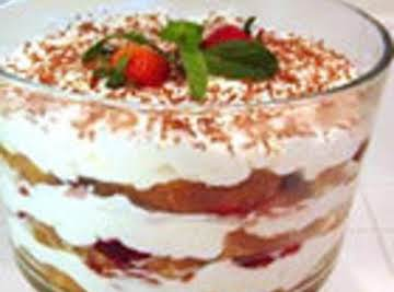 Very Strawberry Banana Trifle