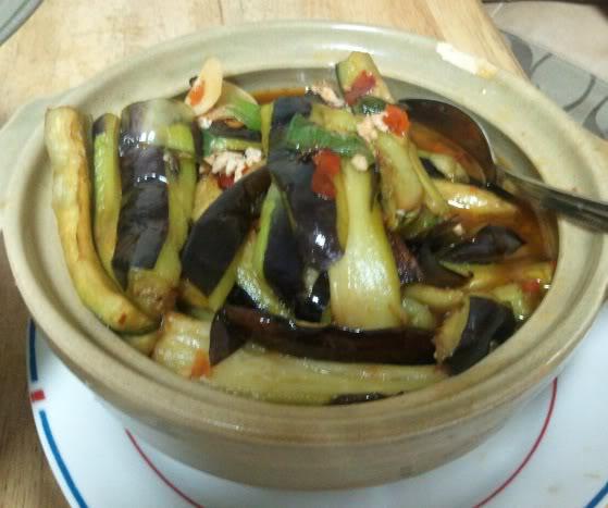 eggplant hotpot